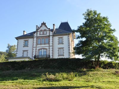 Photo for Apartment with balcony on the first floor of a castle in the Vosges