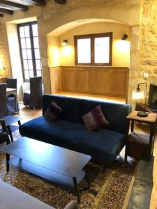 Photo for Jacuzzi, Classic Charm: Gite de Charme inside Domme, fireplace, location!!!