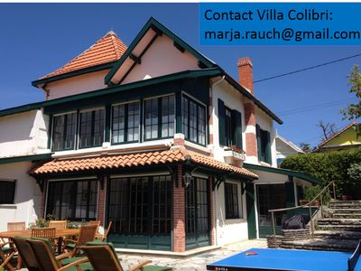Photo for Charming villa 300 m from the sea, huge garden, suitable for families
