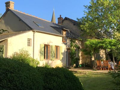 Photo for Cosy detached holiday home with rural garden in culturally rich France
