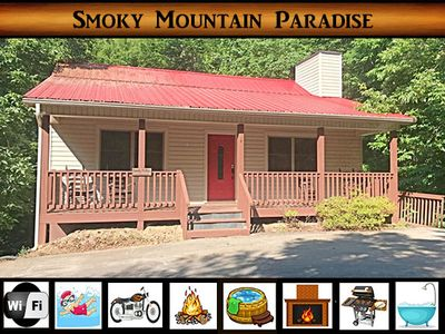 Photo for Smoky Mountain Paradise - Hot Tub / Jacuzzi Tub / WiFi / 10 min from National Park