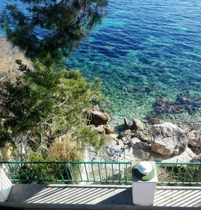 Photo for Villa with terrace 10 meters from the sea on the Capo Zafferano golf course.