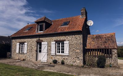 Photo for Old bakery restored house, very charming, rural location