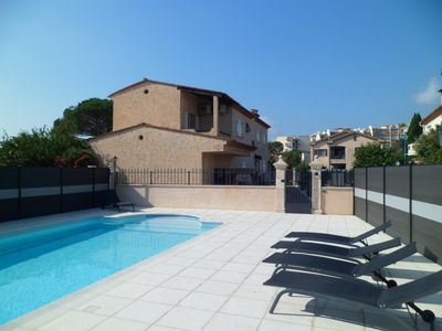Photo for townhouse near the sea in mandelieu napoule ***