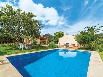 Photo for Villa w/pool, BBQ house + air con, walking distance from village