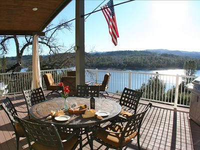 Photo for Spectacular Lake Nacimiento Waterfront Home with Private Dock.