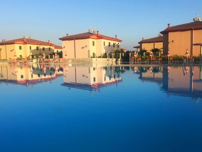 Photo for Residence Afrodite - Villa 4 places, swimming pool, animation