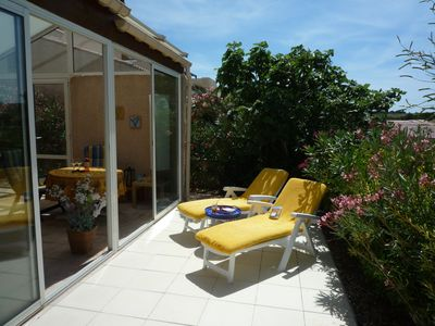 Photo for Holiday home with beautiful views of the nature reserve La Clape