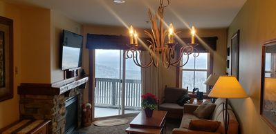 Photo for (XMAS TREE & DECOR INCLUDED!!) Ski In/Out Village Location w/Panoramic Mtn View