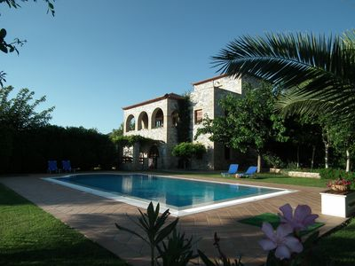 Photo for VILLA SUNSET a luxury villa with fantastic sea view and pool