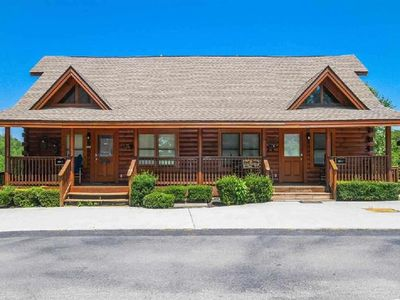 Photo for Beautiful Pigeon Forge Cabin. Minutes to Everything! Perfect Setup for Groups.