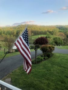View from the porch in Spring of 2020