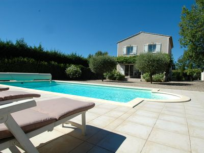 Photo for Beautiful House in Oppède With Pool And Views Of The Luberon