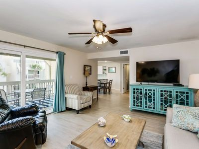 Photo for Beautifully Updated Townhome Condo Nestled Between The Bay And Gulf - Private Beach - Newly Listed