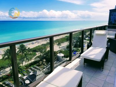 Photo for Exquisite Oceanfront 2 bedroom 1.5 bathrooms - GORGEOUS VIEWS