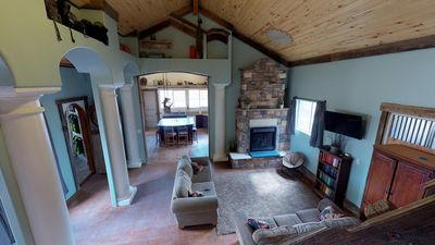 Photo for The Most Unique Cabin, Hot Tub, Stunning, Private, Secluded!