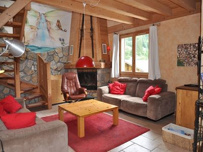 Photo for Individual chalet very welcoming situated in the Richebourg sector between Abondance and La Chapelle