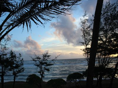 Photo for Corner Top Floor Beachfront Condo with complimentary WiFi