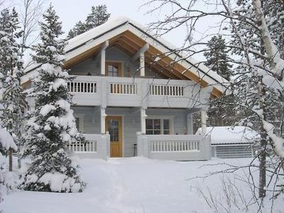 Photo for Vacation home Lumilinna in Kittilä - 10 persons, 3 bedrooms