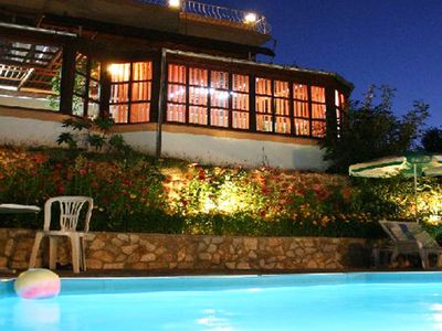 Photo for Large HOLIDAY VILLA with private pool, close to the sandy beach in Varna