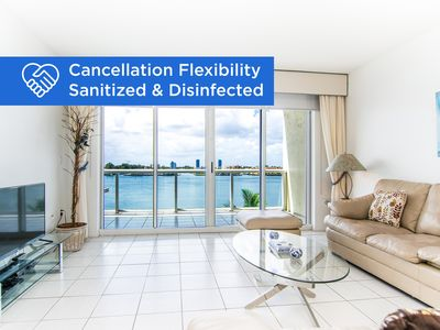 Photo for Bright condo with amazing Intracoastal views. WIFI + Parking
