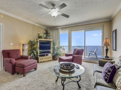 Photo for 23rd Flr Sunset Views! Beach chairs included!  2 Br, Sleeps 8.