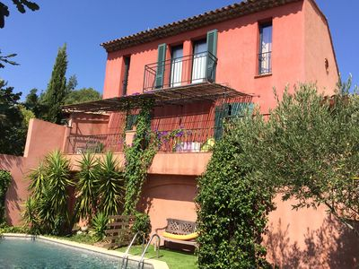 Photo for MAGNIFICENT VILLA WITH IMPREGNABLE VIEW, HEATED POOL, PIANO