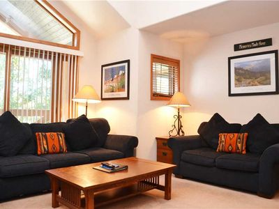 Photo for Los Pinos Townhomes: 3 BR / 3 BA townhome in Breckenridge, Sleeps 8