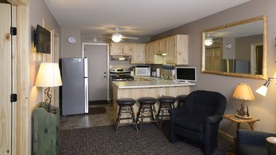 Photo for 100% Remodeled 2 BR Condo On Big & Little Yellow Lakes- slip & garage included
