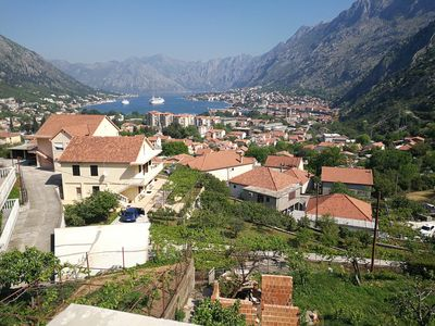 Photo for Kotor home with a view on bay