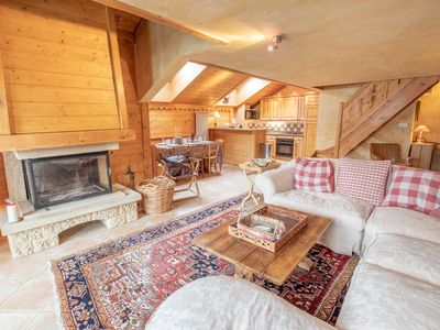 Photo for Premium apartment with sauna, 8 pers Meribel Village, 100m from the pistes