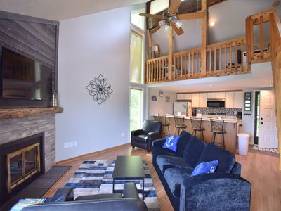 Photo for Mystic View Loft at Hawks Nest 2 Bed/1 Bath (Sleeps 6) Beautifully Remodeled!