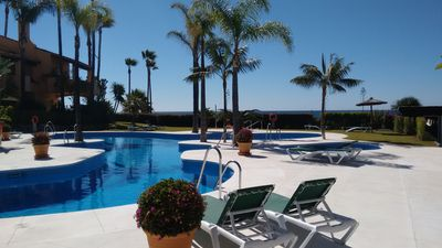 Photo for Lovely Townhouse by the sea in Estepona
