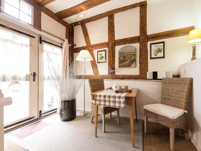 Photo for Le Petit Ours ***** - Charming cottage for 2 people with terrace