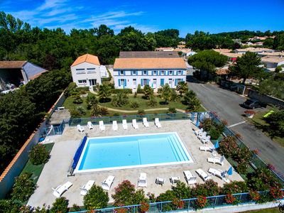 Photo for LOGIS DE LA PALMERAIE - heated pool - 11 VILLAS 70 m2 - villa n ° 9