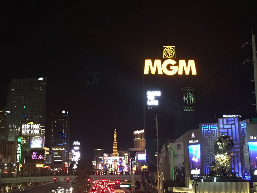 Is In The Mgm Right On Stunning Las Vegas Strip