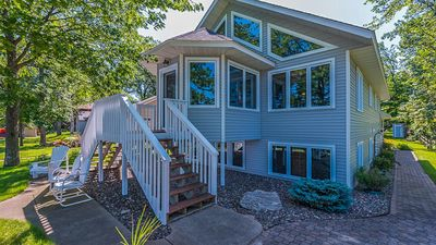Photo for Beautiful home on Round Lake, part of the Gull Lake Chain of Lakes