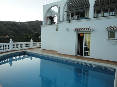 Photo for the heart of the superb villa ANDALUSIA
