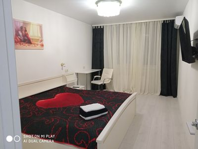 Photo for Luxury apartment metro Teremki 5min