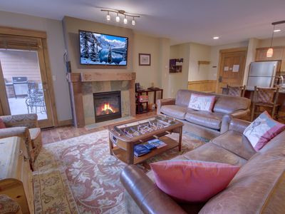 Photo for Families love The Springs! Updated condo w/ Mountain views! Walk to Summer festivals