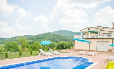 Photo for Villa Maria Buzet with Shared Pool / Apartment Maria II on the first floor with Pool View