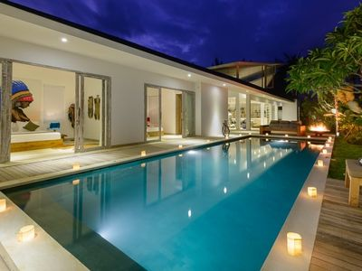 Photo for 3 BR Stylish Villa in Canggu Near Beach