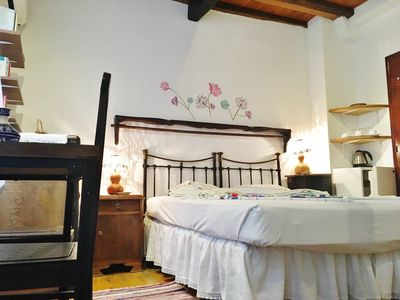 Photo for Anemoessa double room. Very well maintained, centrally located in a back street