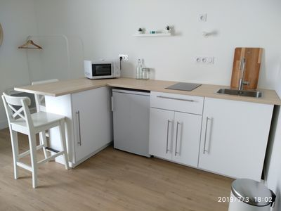 Photo for Studio 29m² for 2 people, with terrace, quiet