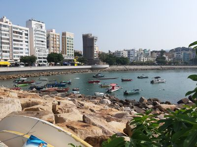 Photo for Charming Stanley Beach Flat in heart of Stanley Market w Rooftop.Best location!