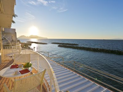 Photo for seaside villa ten steps to the sea