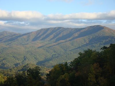 Sometimes you feel you can reach out and touch Greenbrier Mountain itself!