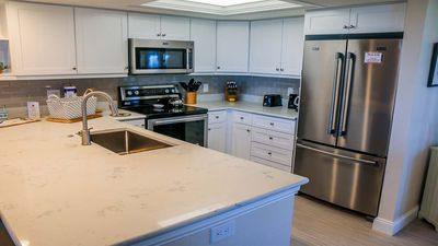 Photo for Compass Point #243  Just completely renovated Beautiful, Weekly beachside condo rental, pool, tennis, on bike paths,