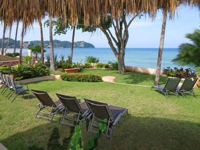 Photo for ★★★ BEACHFRONT 3BR/3BA MEXICAN CASA Steps 2 beach