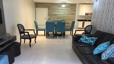 Photo for AP 3 bedroom super comfortable with air, near the beach of the fort and trade.